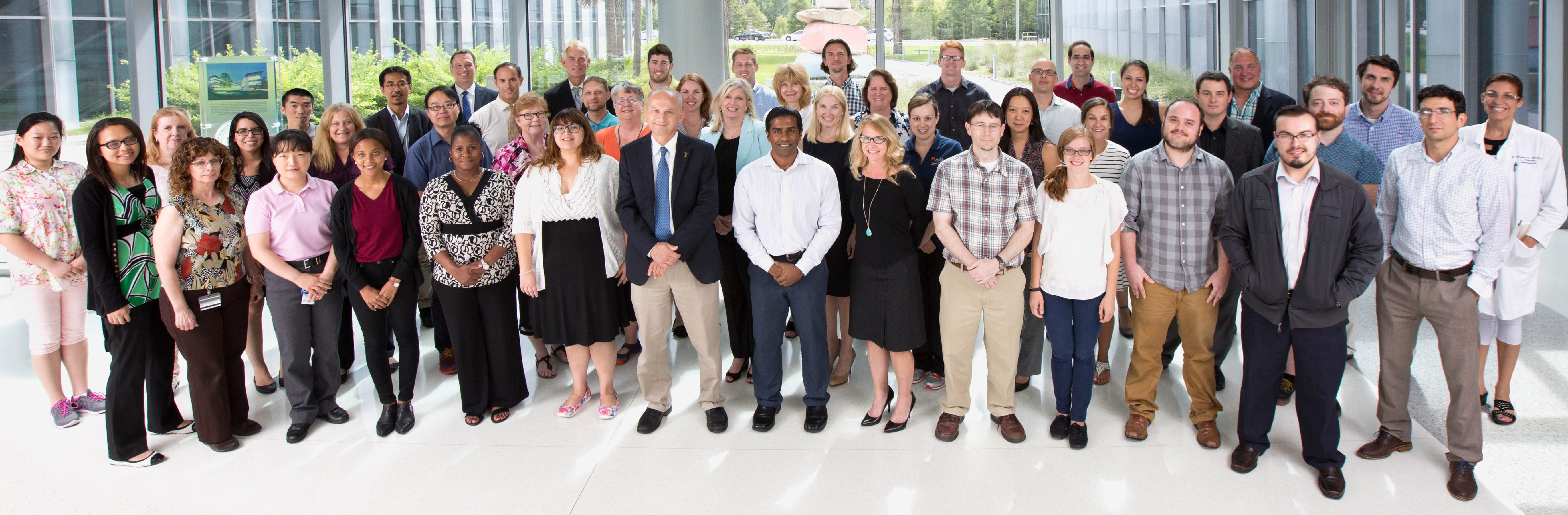 Department of Aging and Geriatric Research group photo